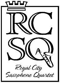 Royal City Saxophone Quartet